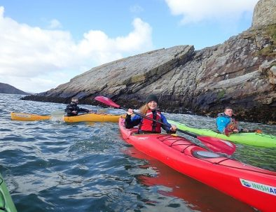 Sea-Kayaking-Dunree-Cosy-cottage-inish-adventures